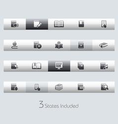 Books Classic Bar Series vector image
