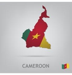 cameroon vector image