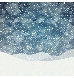 Falling snow vector