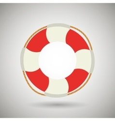 Float isolated design vector