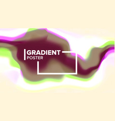 gradient fluid background dynamic layout vector image