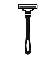 man razor icon simple style vector image