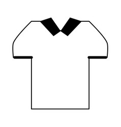 Masculine shirt icon image vector