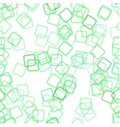 Repeating abstract square pattern background vector