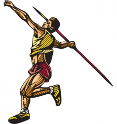 track field vector image