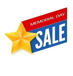 Veterans day sale banner template vector