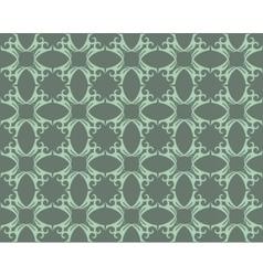 Vintage geometric floral classic pattern vector