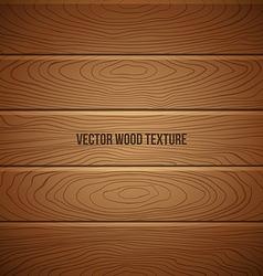 Wooden brown texture background vector