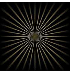 Golden striped background vector