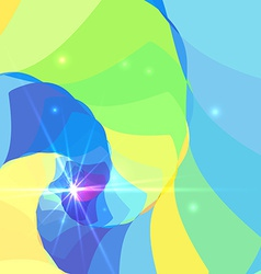 Abstract Colorful Spiral Tunnel Background vector