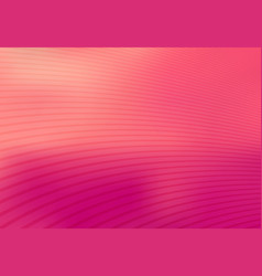 abstract pink mesh gradient with curve lines vector image