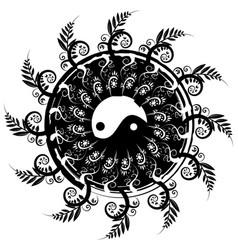 Balance emblem vector