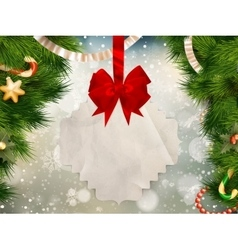 Christmas bells EPS 10 vector image