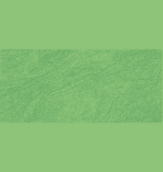 Colored skin texture natural or faux gree vector