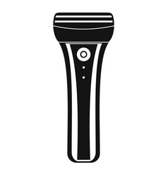 electric razor icon simple style vector image