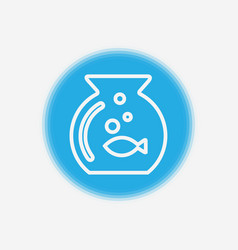 fish icon sign symbol vector image