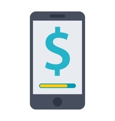 Mobile Banking Concept vector image