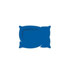 pillow sleep logo icon design vector image