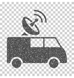 Radio Control Car Grainy Texture Icon vector