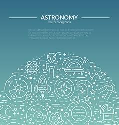 Space Banner vector