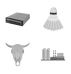 Technology history and other monochrome icon in vector