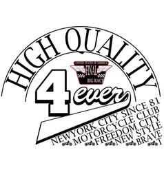 Typography slogan t-shirt graphics vector