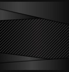 Dark metal backgrounds vector image