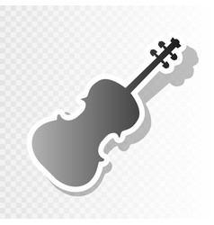 violine sign new year vector image vector image