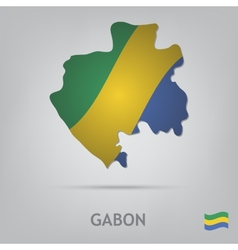 country gabon vector image vector image