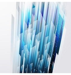 abstract background wiht straight blue lines vector image