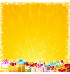 Birthday wish list vector