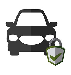 car insurance design vector image