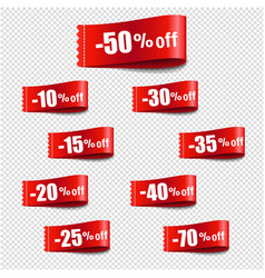 discount tag sale transparent background vector image