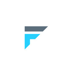 initial f fi if il logo template icon element vector image