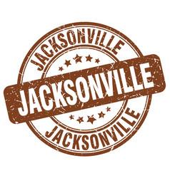 Jacksonville stamp vector