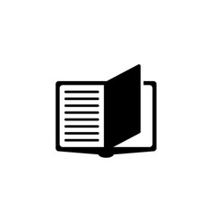 Notebook flat icon vector