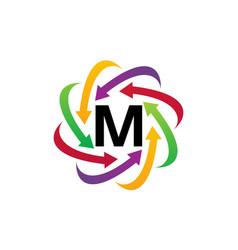 Online marketing business distribution m vector