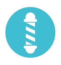 barbershop pole symbol vector image