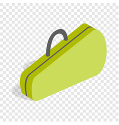 case for tennis rackets isometric icon vector image vector image