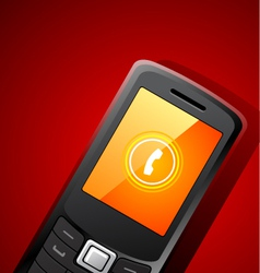 Mobile phone background vector