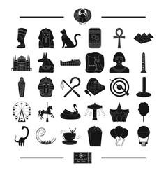 Architecture history circus and other web icon vector