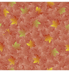 Swirl floral seamless pattern vector image