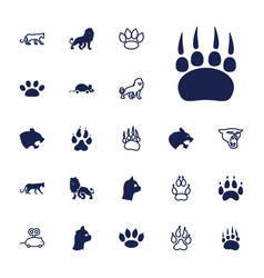 22 cat icons vector