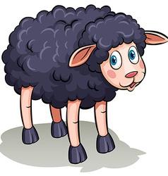 A black sheep vector image
