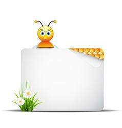 Honey banner vector