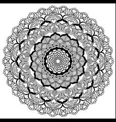 mandala 2 image vector image