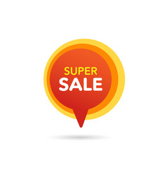 sale discount banner discount offer price tag vector image