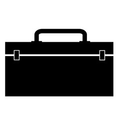 tool box icon on white background flat style vector image
