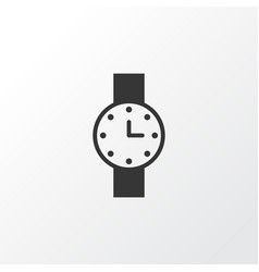 Watch icon symbol premium quality isolated timer vector