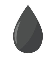 Gas oil drop vector image